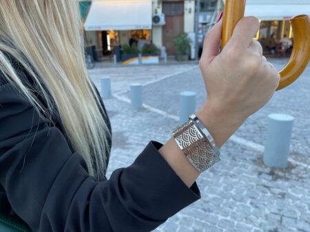 """Ατσάλινο βραχιόλι """"Shiny Bracelet"""""""